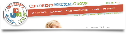 Children's Medical Group Launches New Website