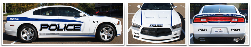 thinkWEBSTORE Designs New City of Ridgeland Police Cruisers